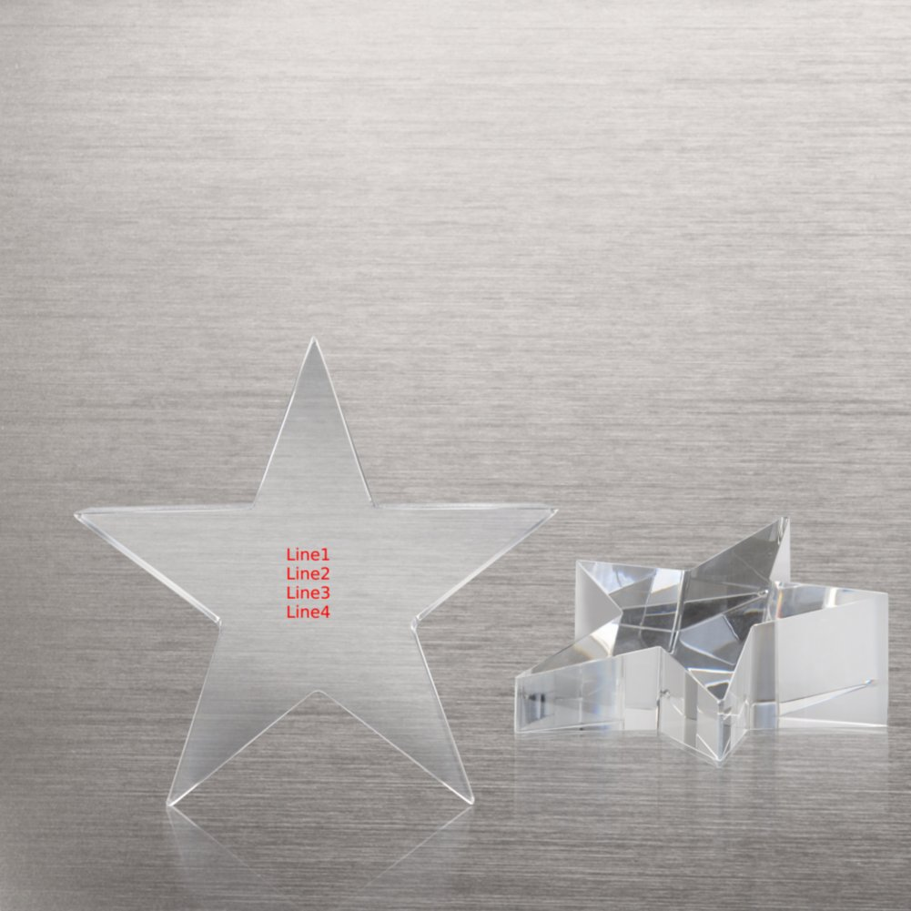 View larger image of Crystal Star Paperweight