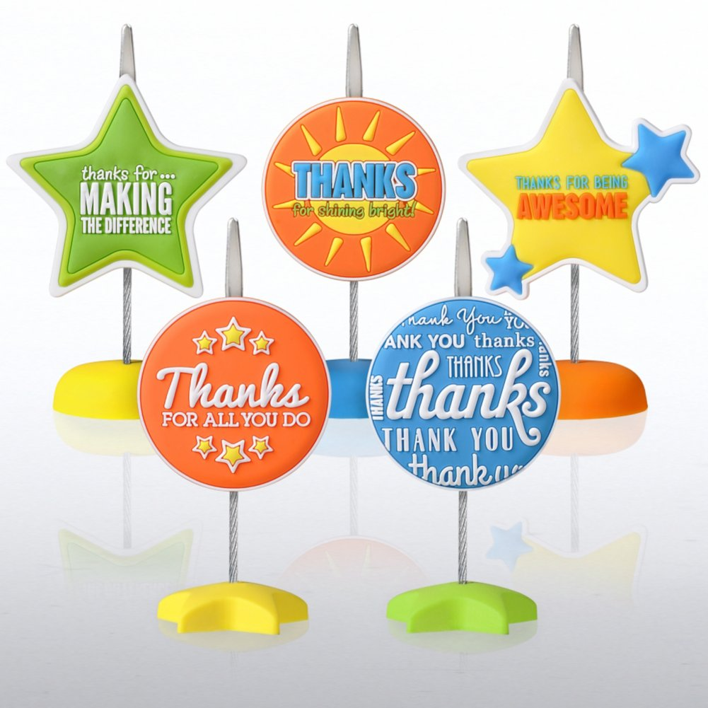 View larger image of PVC Memo Clips - Thank You Edition!