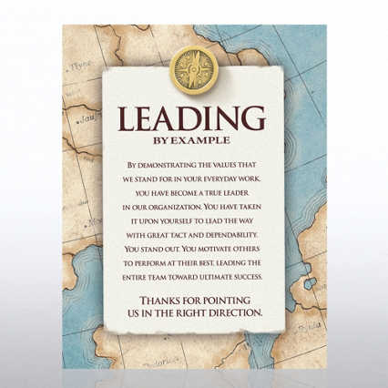 Character Pin - Compass: Leading by Example - Full Color