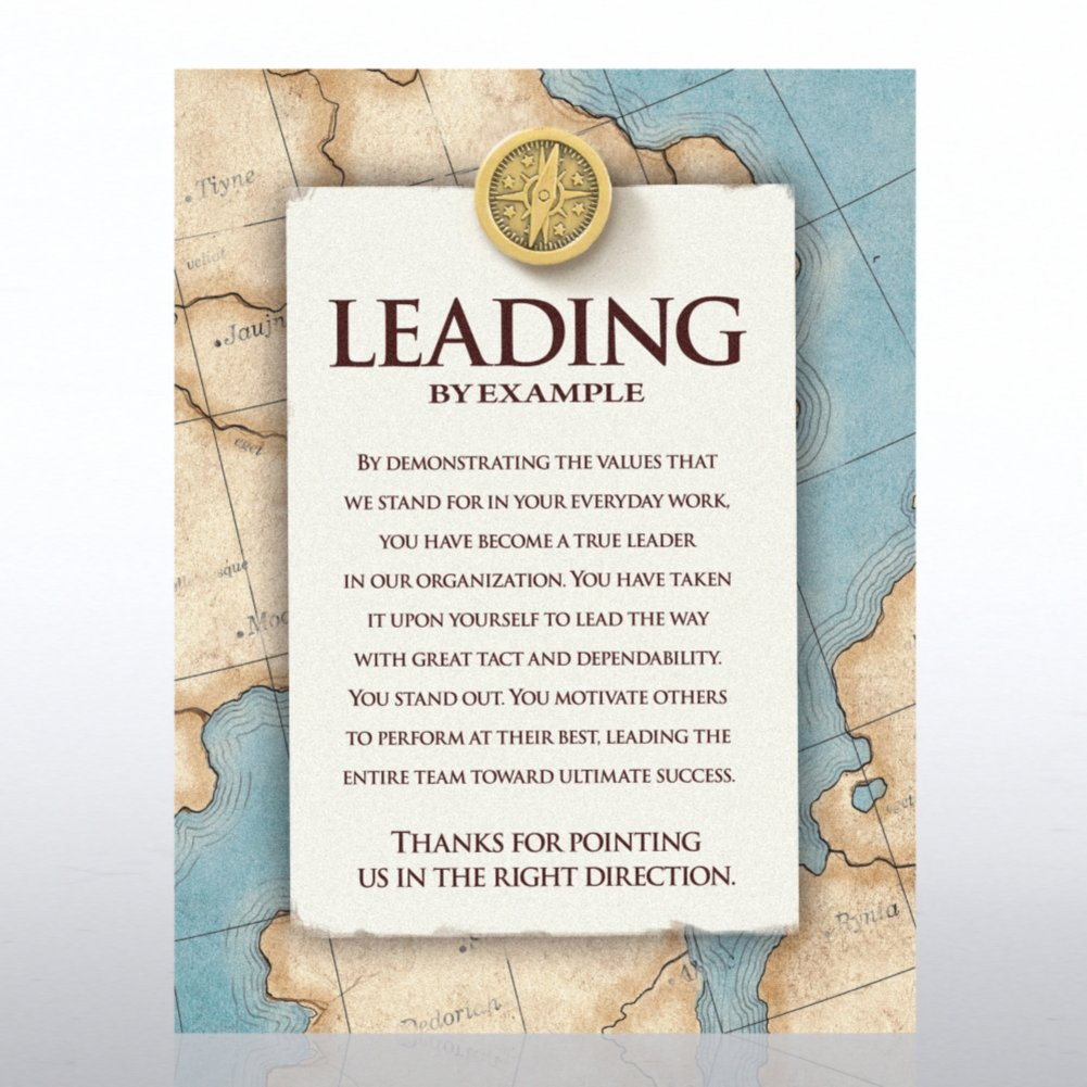 View larger image of Character Pin - Compass: Leading by Example - Full Color