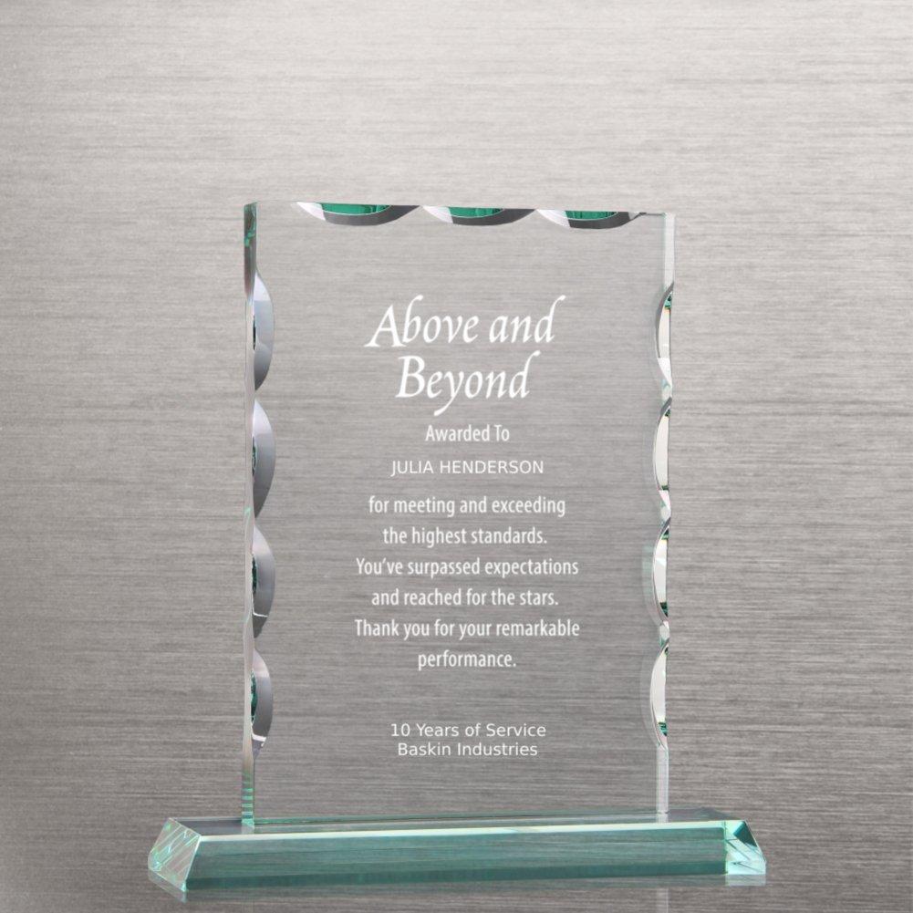 View larger image of Elite Jade Trophy - Beveled Rectangle