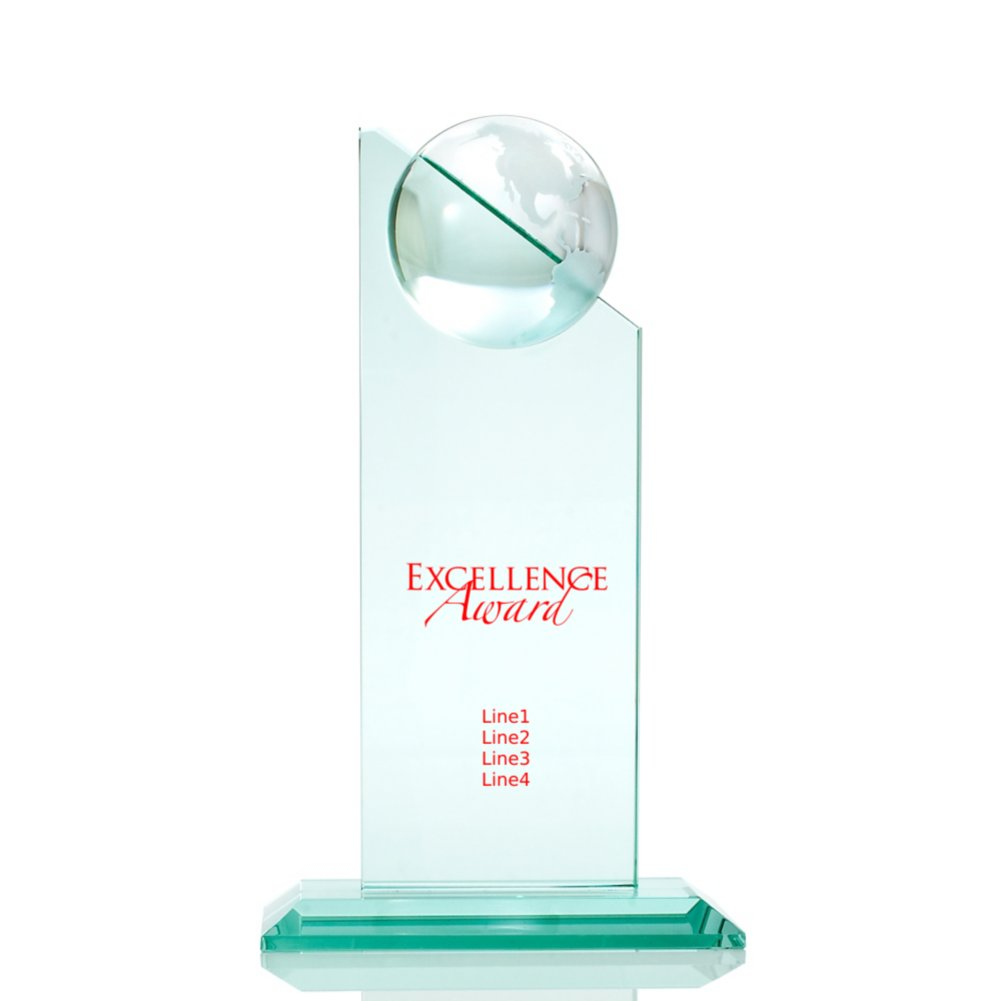 View larger image of Jade Globe Tower Trophy