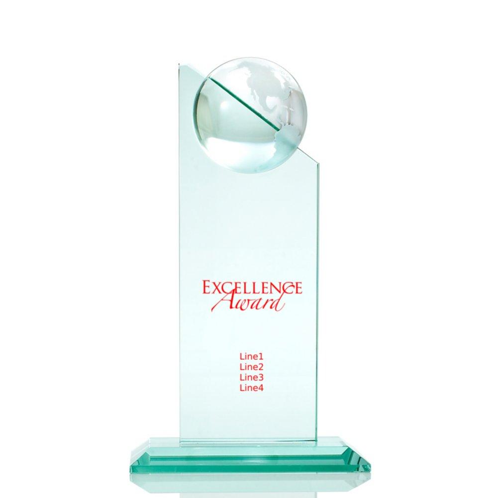 Jade Globe Tower Trophy
