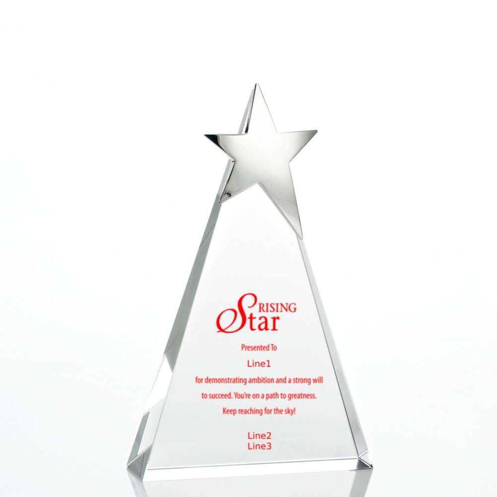 View larger image of Silver Star Accent Trophy - Tower