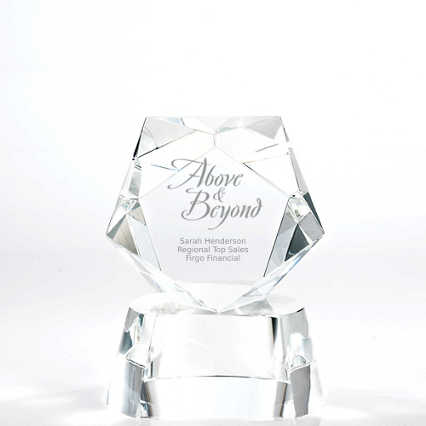 Crystal Pentagon Trophy