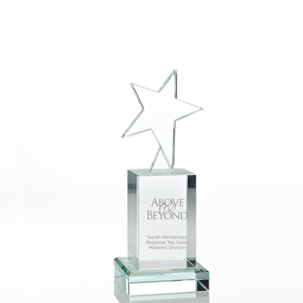 View larger image of Crystal Rising Star Trophy