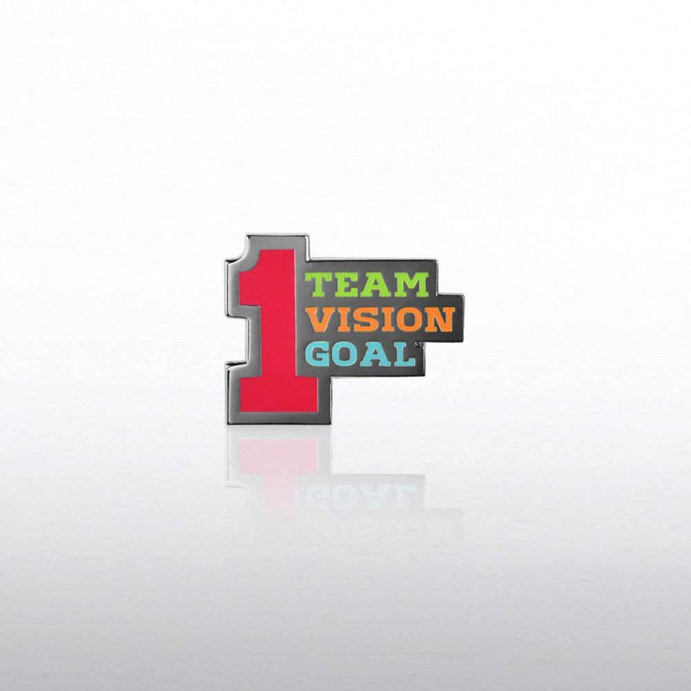View larger image of Lapel Pin - Number 1 Team Vision Goal