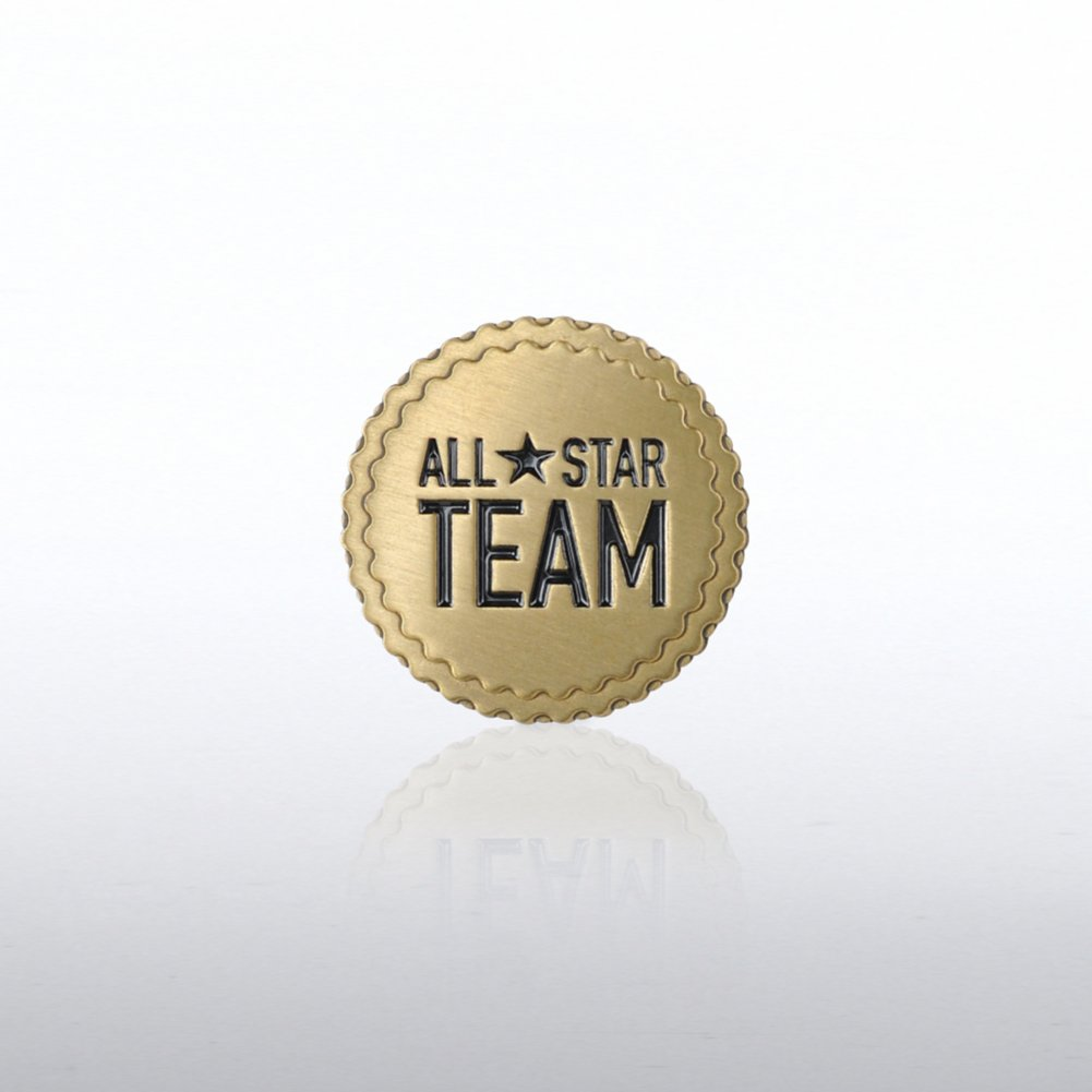 View larger image of Lapel Pin -  All Star Team