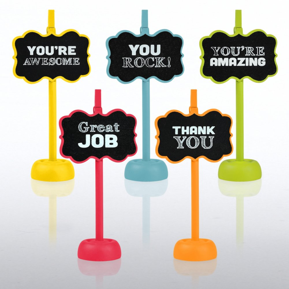 View larger image of Chalkboard Memo Clips