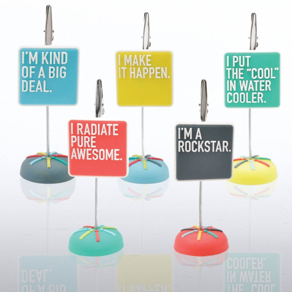 View larger image of PVC Memo Clip Pack - Exclamations