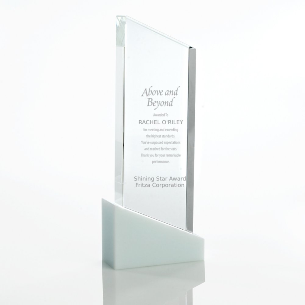 View larger image of Brilliant White Crystal Award - Tower