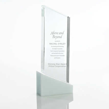 Brilliant White Crystal Award - Tower