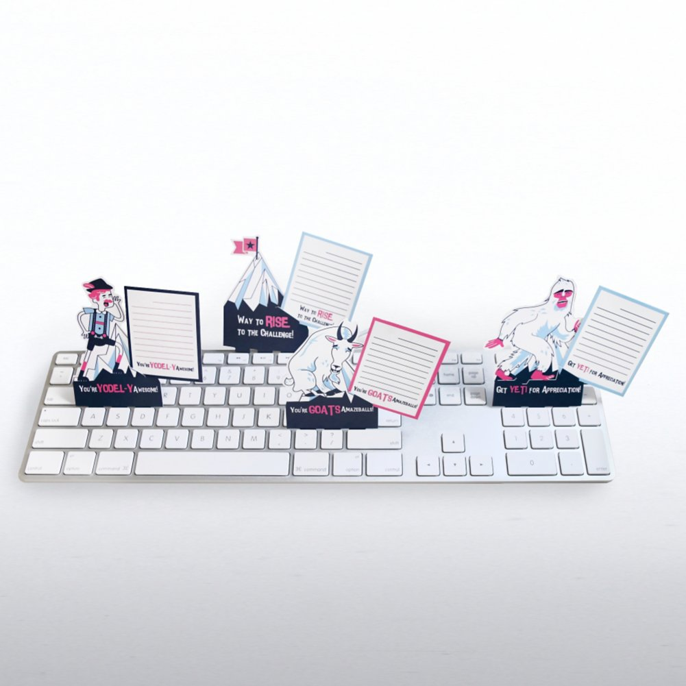 View larger image of Keyboard Notes - Mountain Adventures Edition