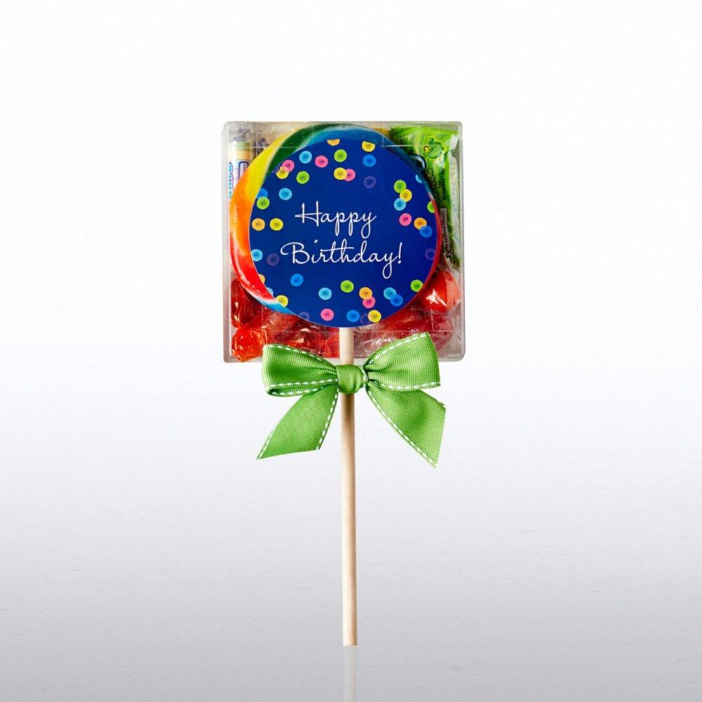 Lollipop Candy Set - Happy Birthday!