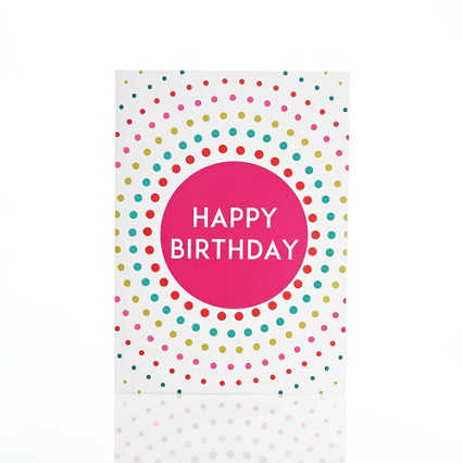 Classic Celebrations - Dots - Happy Birthday