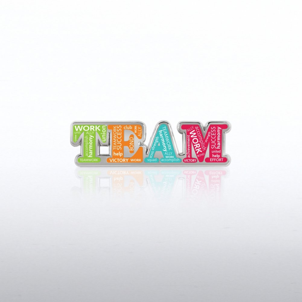 View larger image of Lapel Pin - Team Words