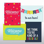 View larger image of On Boarding Welcome Card Set