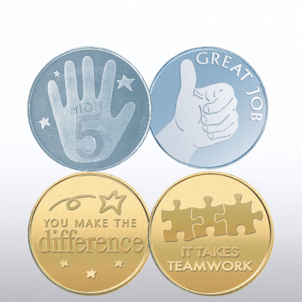 View larger image of Cheerful Change and Team Token Bundle