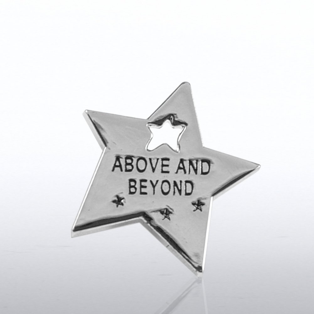 View larger image of Lapel Pin - Milestone - Above & Beyond Star