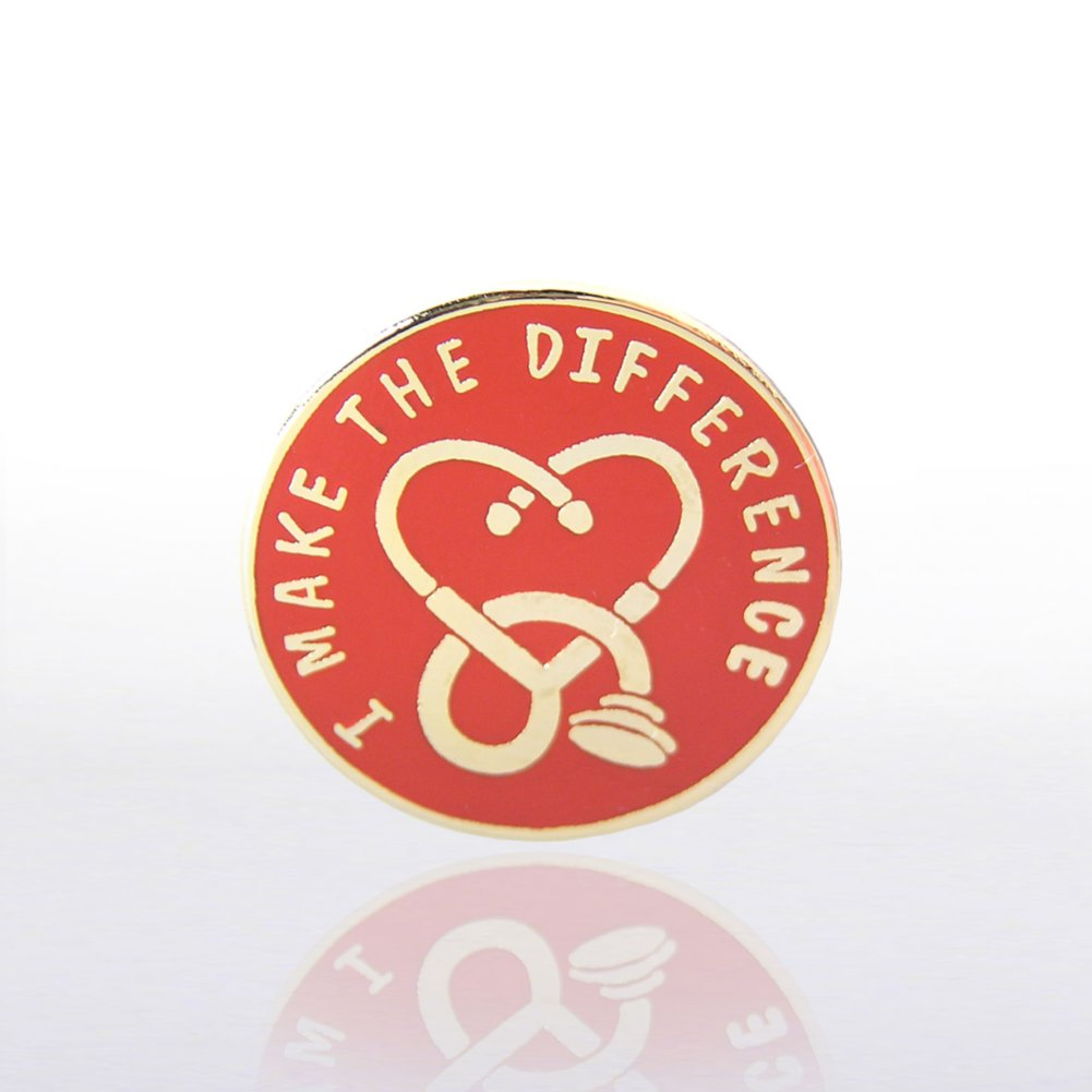 View larger image of Lapel Pin - I Make the Difference Medical