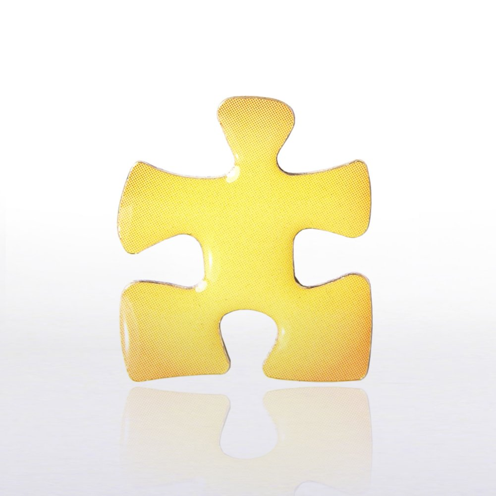 View larger image of Lapel Pin - Essential Piece Yellow