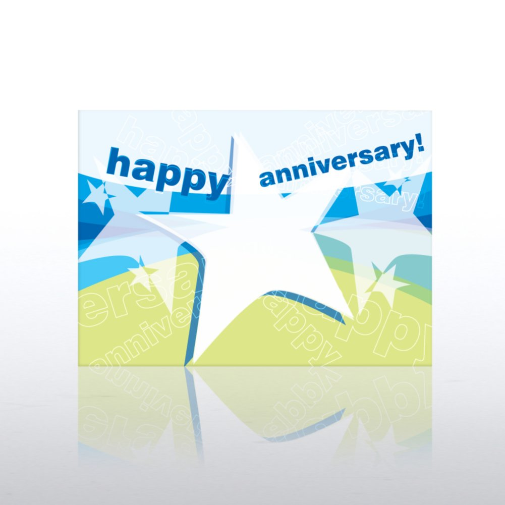 View larger image of Classic Celebrations - Anniversary - Star Banner