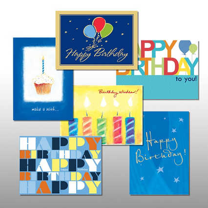 Classic Celebrations - Birthday Wishes - Assortment