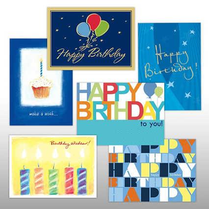 Classic Celebrations Birthday Wishes Assortment