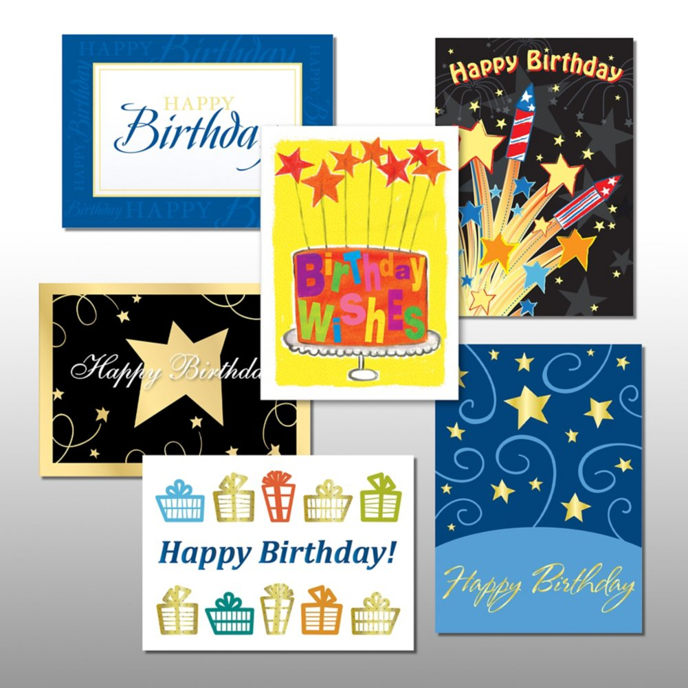View larger image of Classic Celebrations - Happy Birthday - Assortment