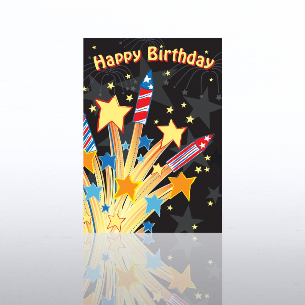 View larger image of Classic Celebrations - Happy Birthday Fireworks