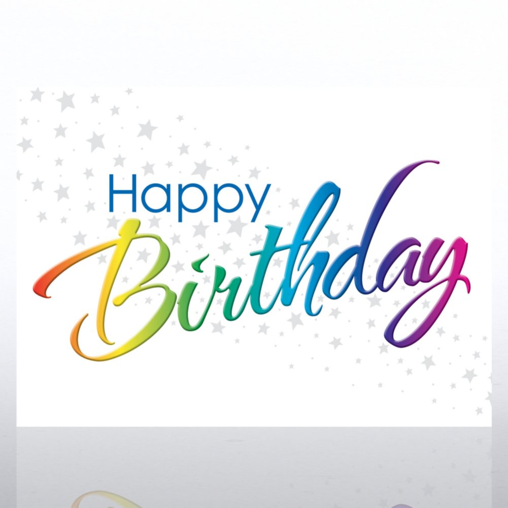 View larger image of Grand Events - Happy Rainbow Birthday