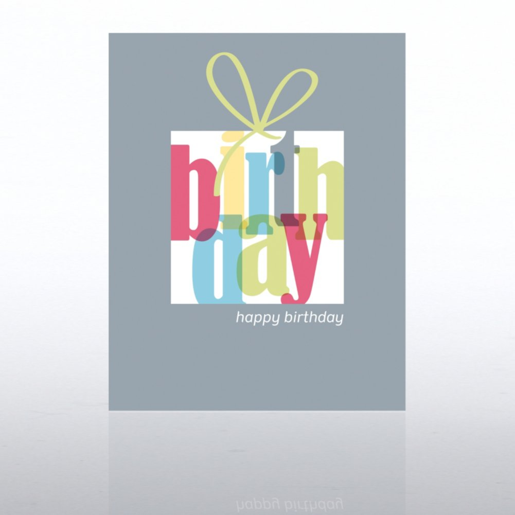 View larger image of Classic Celebrations - Happy Birthday - Birthday Present