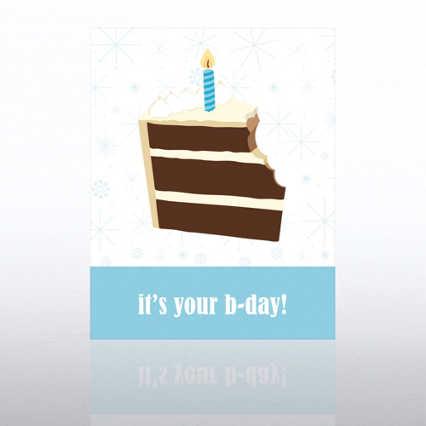 Classic Celebrations - Happy Birthday - Birthday Cake