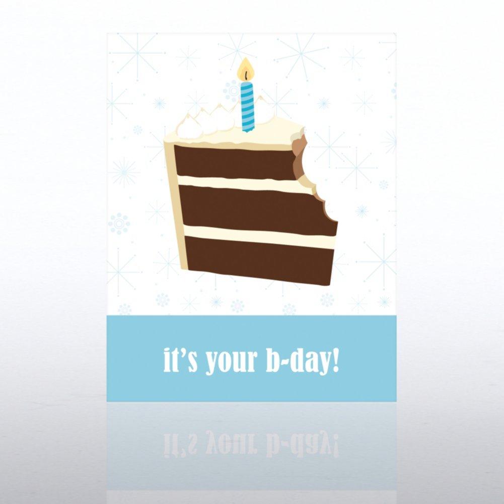 View larger image of Classic Celebrations - Happy Birthday - Birthday Cake
