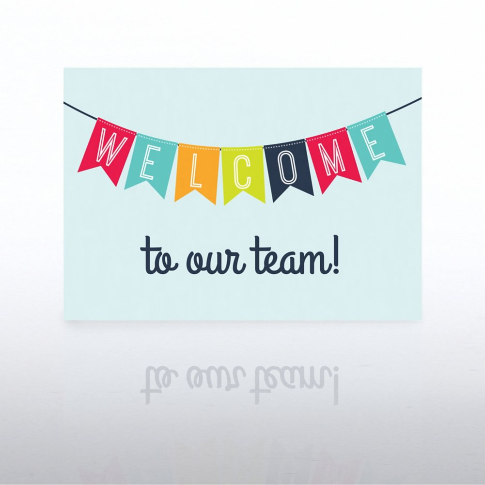 View larger image of Onboarding - Greeting Card - Welcome Banner