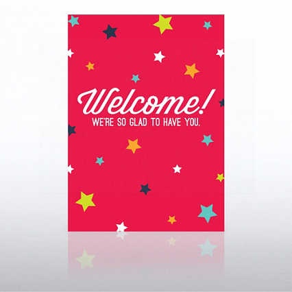 Onboarding - Greeting Card - Welcome Stars