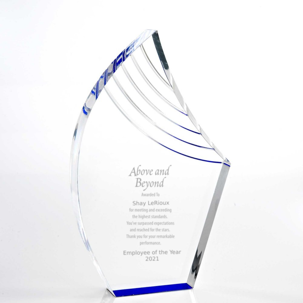 View larger image of Blue Reflection Acrylic Award - Peak