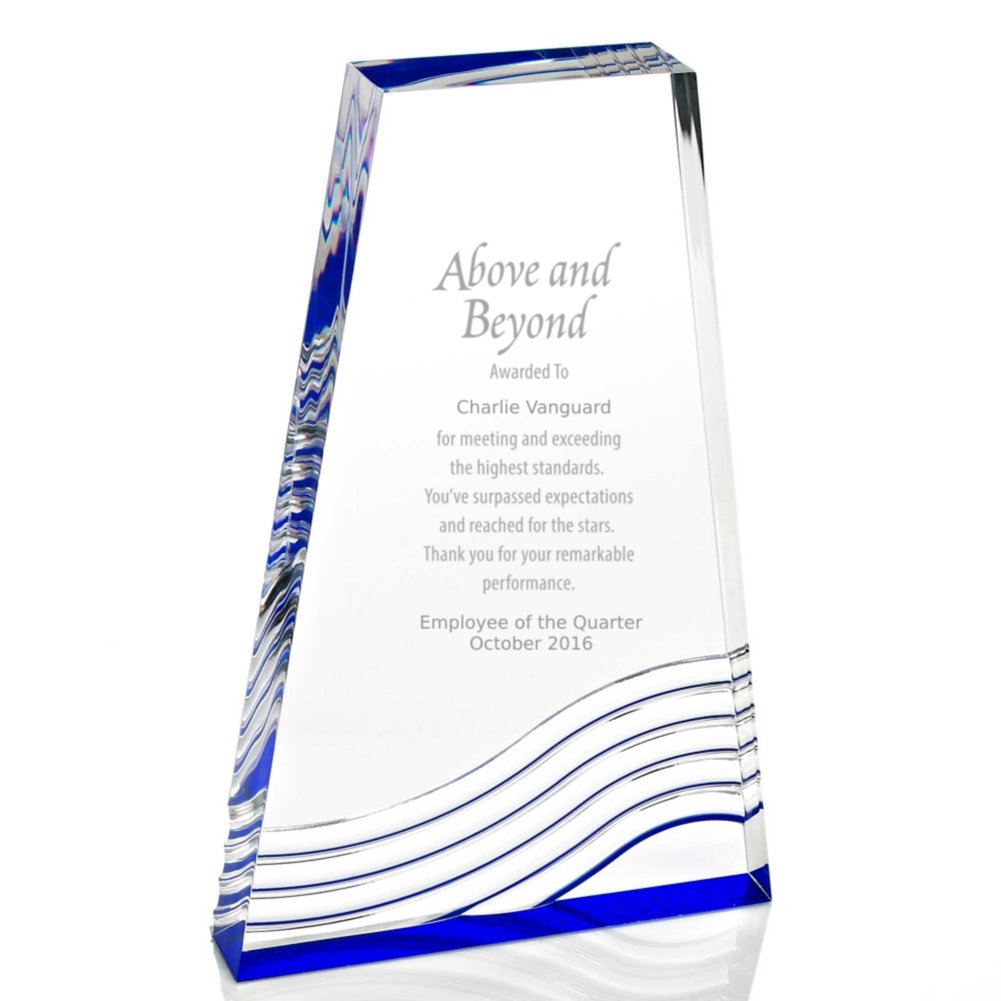 View larger image of Blue Reflection Acrylic Award - Tower