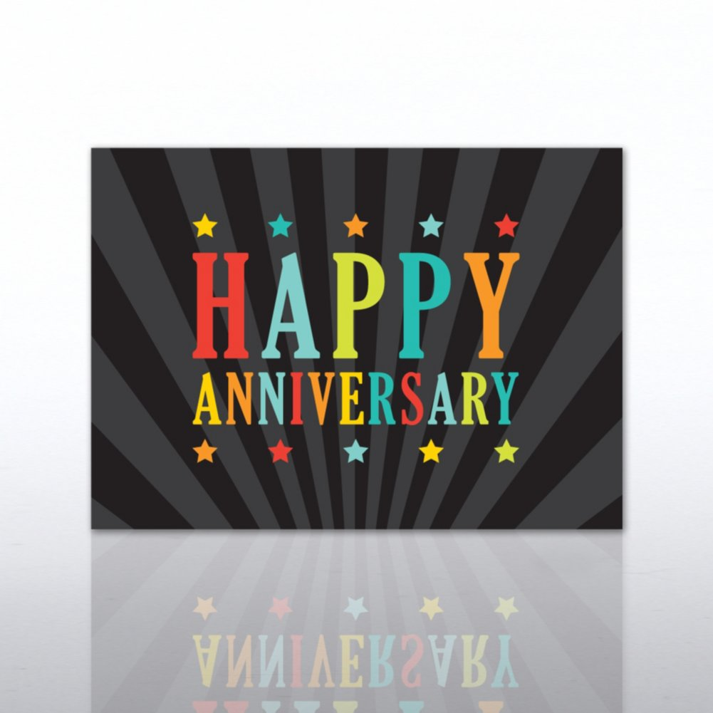 View larger image of Classic Celebrations - Happy Anniversary - Multi Color