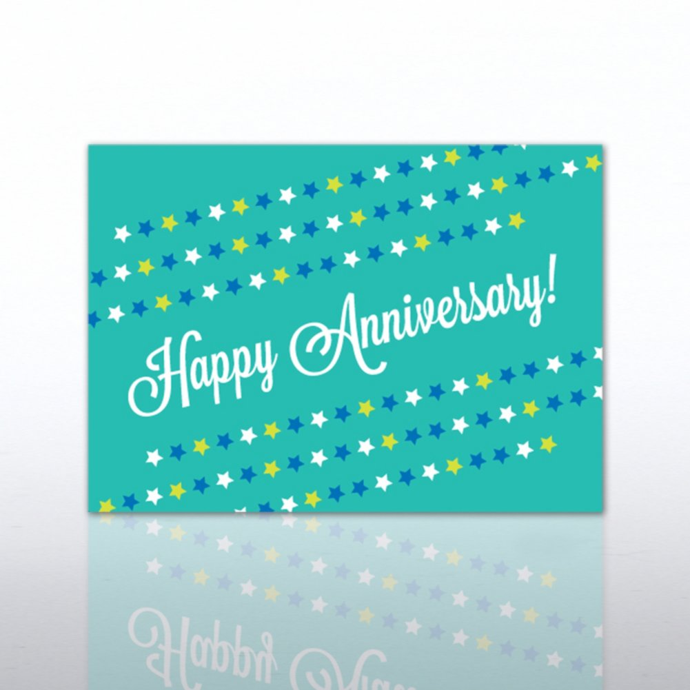 View larger image of Classic Celebrations - Happy Anniversary - Star Banner