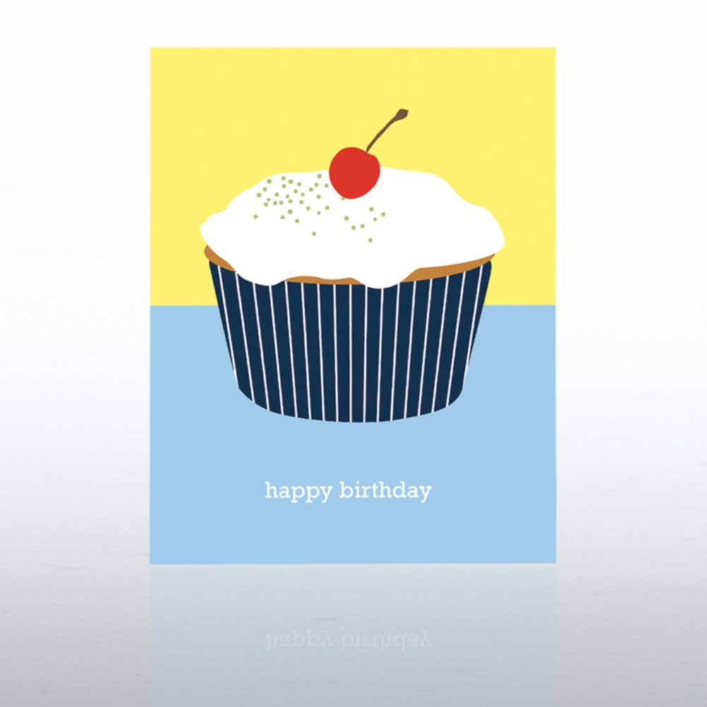 View larger image of Classic Celebrations - Contemporary Birthday - Cupcake