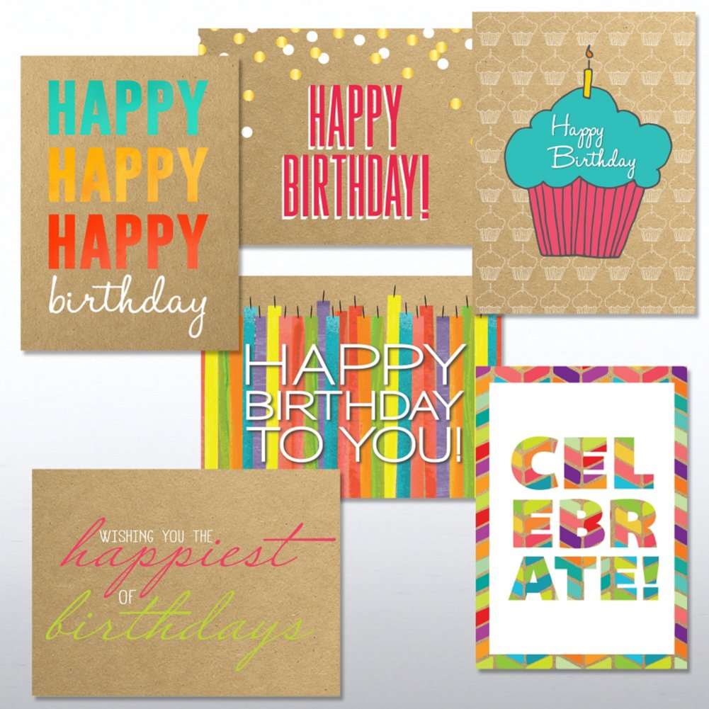 View larger image of Classic Celebrations Birthday Cheer Greeting Card Assortment