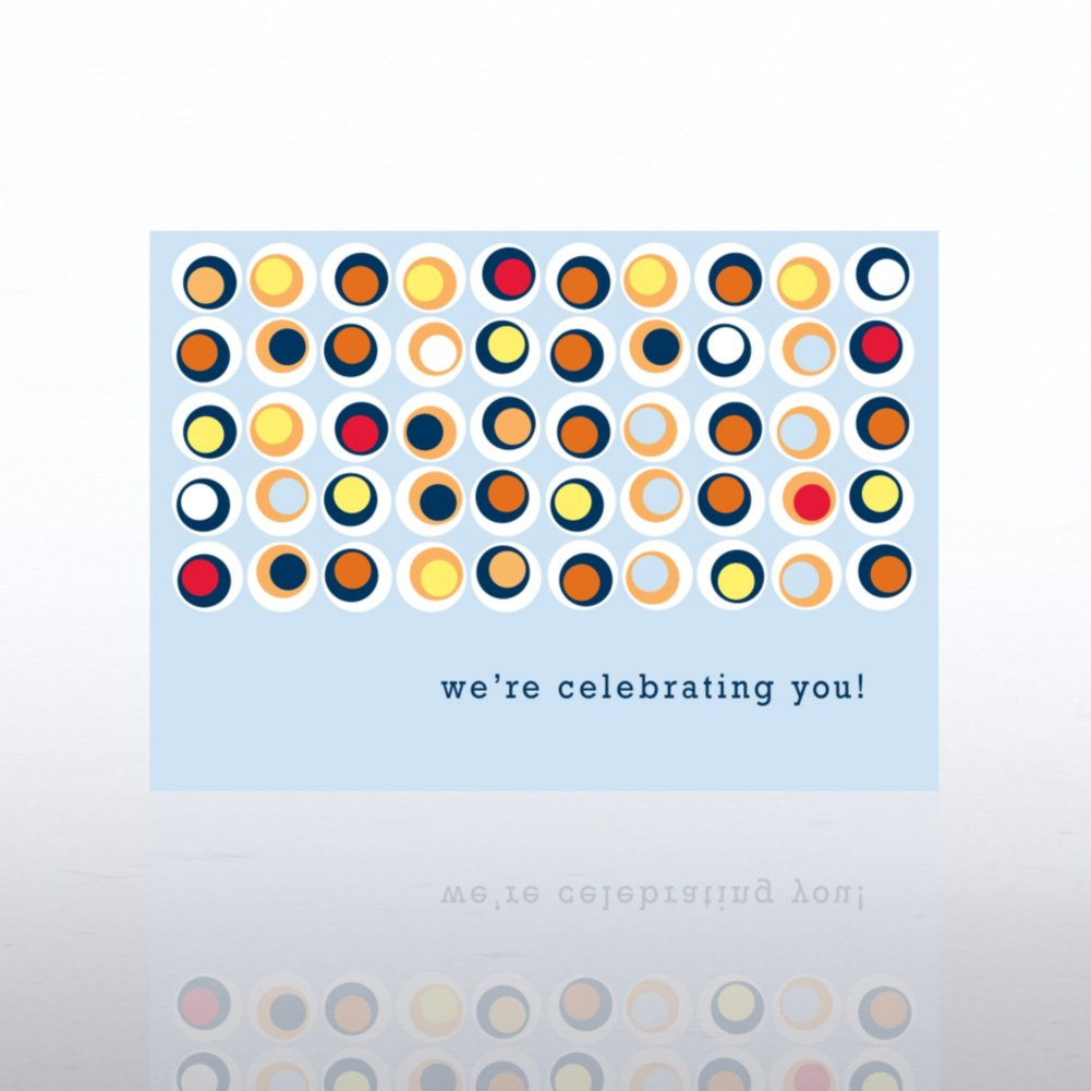View larger image of Classic Celebrations - Contemporary Birthday - Dots