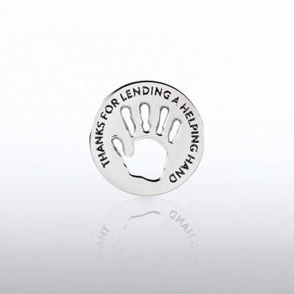 Lapel Pin - Milestone - Helping Hand