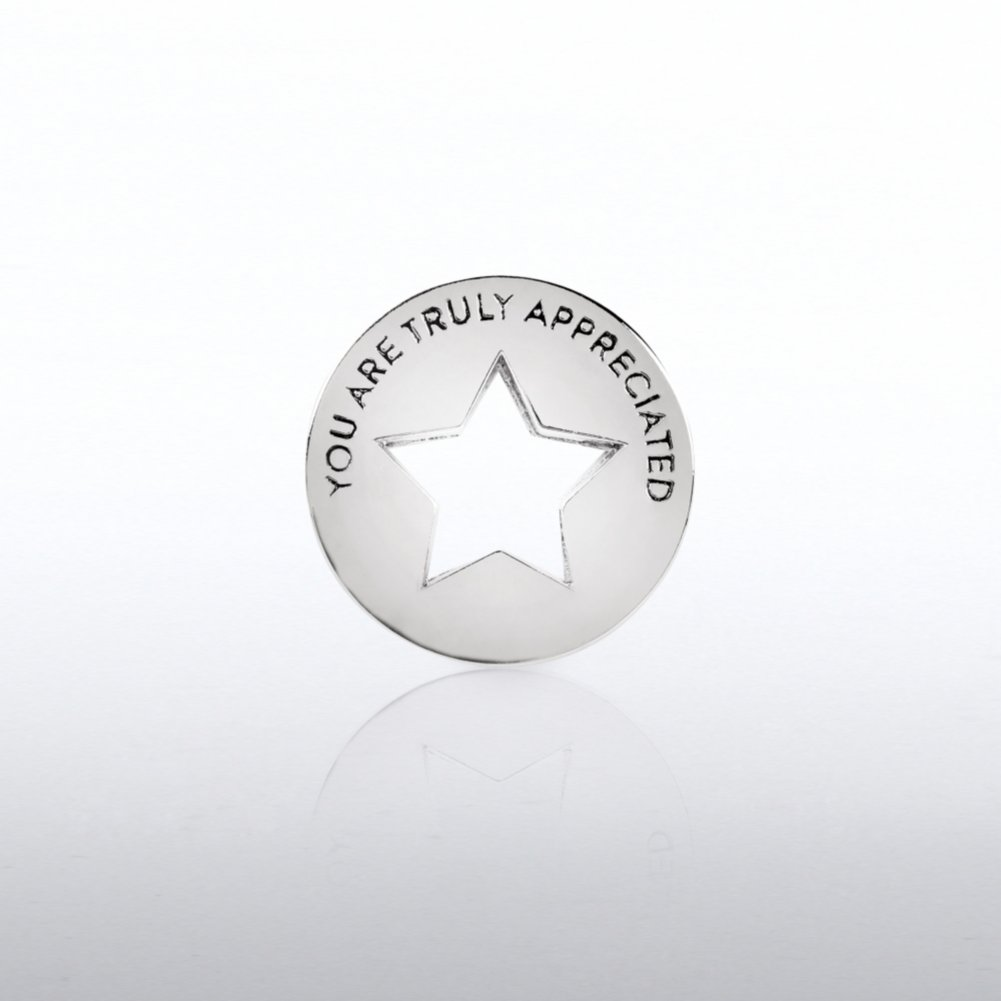 View larger image of Lapel Pin - Milestone - You Are Truly Appreciated