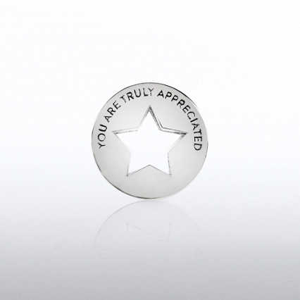Lapel Pin - Milestone - You Are Truly Appreciated