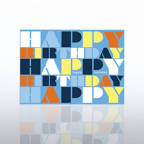 View larger image of Classic Celebrations - Contemporary Birthday - Words