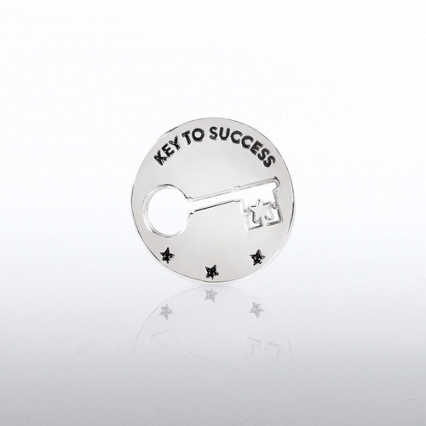 Lapel Pin - Milestone - Key to Success