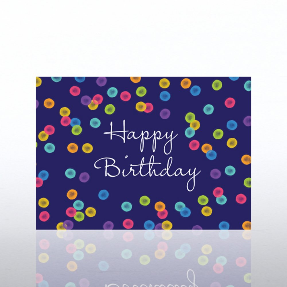 View larger image of Classic Celebrations - Birthday Watercolor - Birthday Dots
