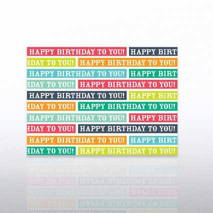 Classic Celebrations - Birthday Blocks
